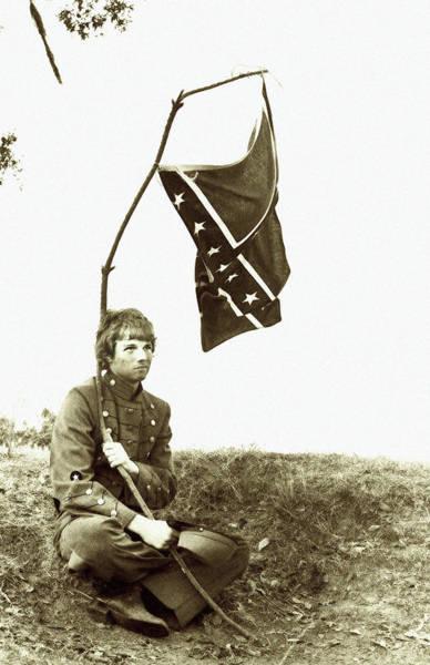 Photograph - Confederate Soldier by KG Thienemann