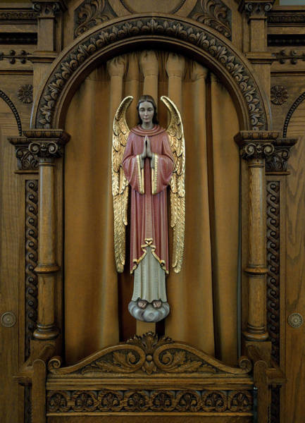 Wall Art - Photograph - Confessional - Our Lady Of Lourdes Cathedral - Spokane by Daniel Hagerman