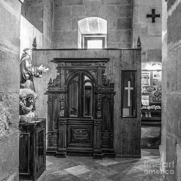 Perpetual Photograph - Confessional Perpetual Socorro Of Granada by Guido Montanes Castillo