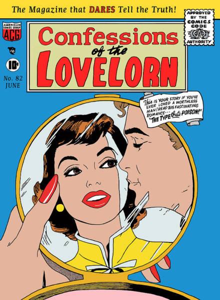 Digital Art - Confessions Of The Lovelorn 6 Comic by Joy McKenzie