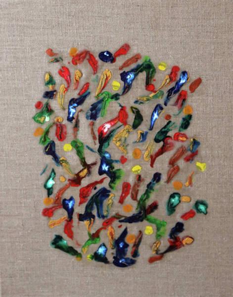 Painting - Confetti by Deborah Boyd
