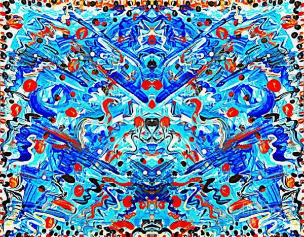 Painting - Confetti Dreams by Diamante Lavendar