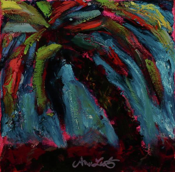Wall Art - Painting - Confetti Palm by Ann Lutz