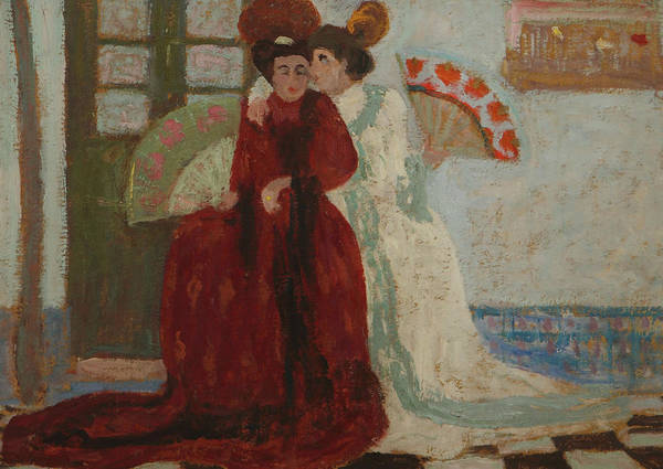 Painting - Confidencia by Pedro Figari