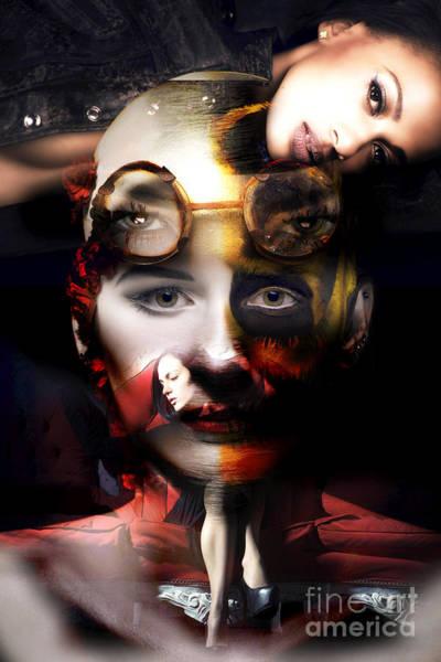 Digital Art - Conflict by John Rizzuto