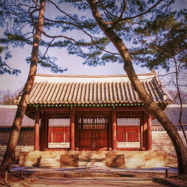 Photograph - Confucian Shrine Jongmyo by Joan Carroll