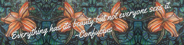 Digital Art - Confucius Beauty  by Mastiff Studios