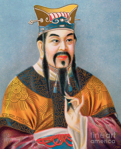 Morality Wall Art - Drawing - Confucius by Chinese School