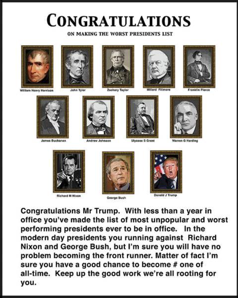 Trump Digital Art - Congratulations by Joe  Palermo