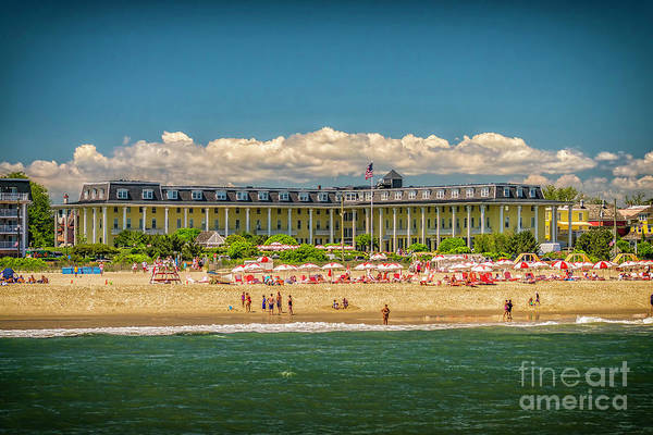 Wall Art - Photograph - Congress Hall In Cape May by Nick Zelinsky