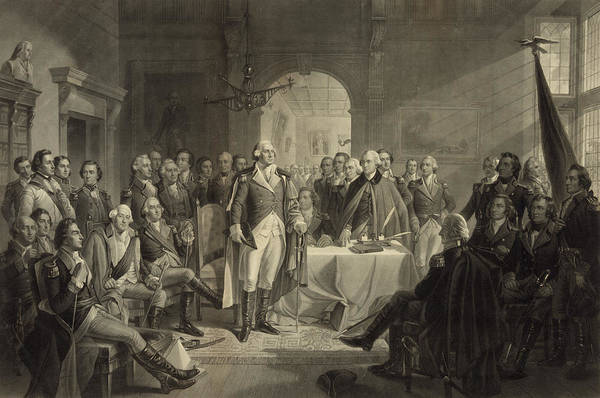 Congress Painting - Congress In The Revolutionary War by Unknown artist