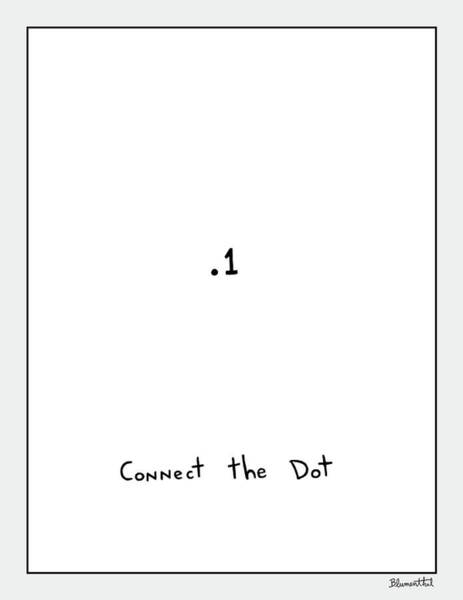 Photograph - Connect The Dot by Yom Tov Blumenthal