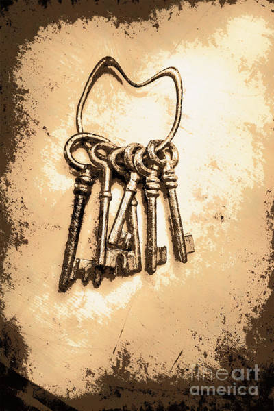 Wall Art - Photograph - Connected Keys by Jorgo Photography - Wall Art Gallery