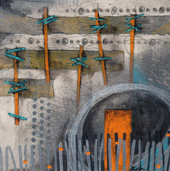 Acrylic Mixed Media - Connectedness by Laura  Lein-Svencner