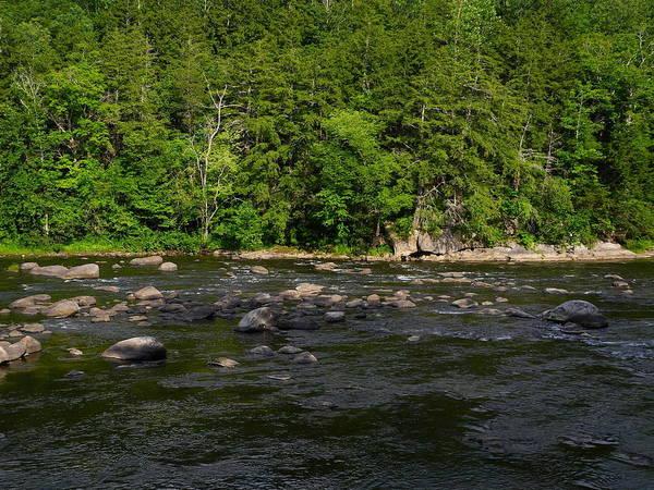 Photograph - Connecticut Appalachian Trail River 2 by Raymond Salani III