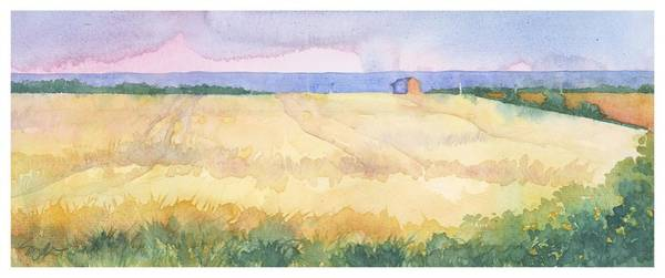 Wall Art - Painting - Connecticut Farm II by Sherri Snyder