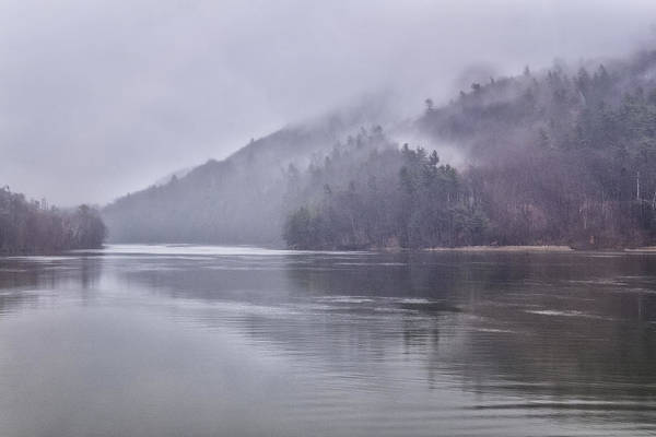 Photograph - Connecticut River Mist II by Tom Singleton