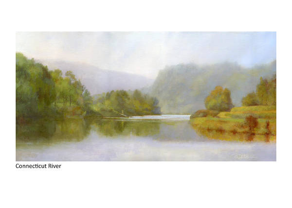 Painting - Connecticut River From River Road II by Betsy Derrick