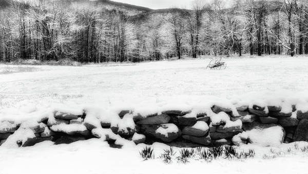 Photograph - Connecticut Spring Snow 2016 by Bill Wakeley