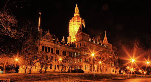 Photograph - Connecticut State Capitol by Kyle Lee