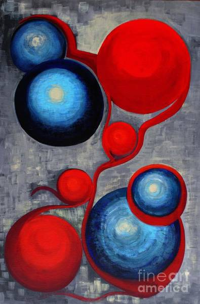 Painting - Connections by Holly Carmichael