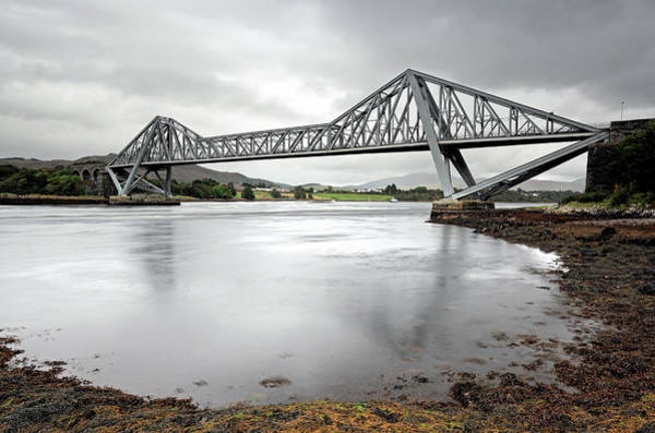 Photograph - Connel Bridge by Grant Glendinning