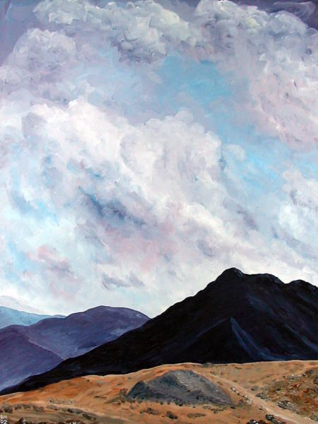 Donegal Painting - Connemara Dreaming by Dave Mawhinney