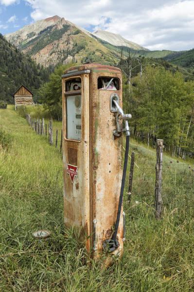 Photograph - Conoco Pump by Denise Bush