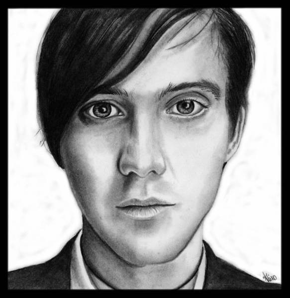 Wall Art - Drawing - Conor Oberst by Alycia Ryan