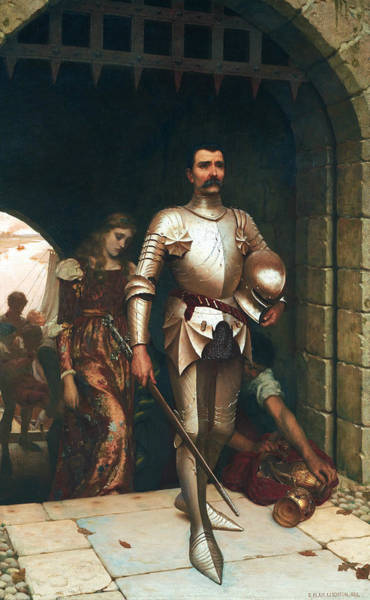 Wall Art - Painting - Conquest by Edmund Leighton