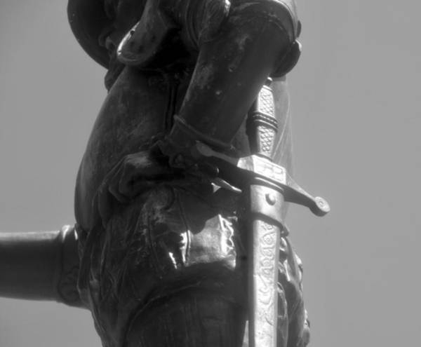 Pedro Menendez Photograph - Conquistador 1500s Work B by David Lee Thompson