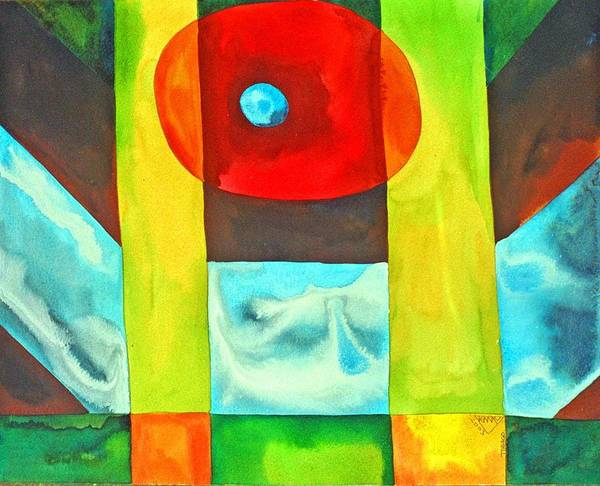 Wall Art - Painting - Consciousness Floating Free Of Concepts by Jennifer Baird