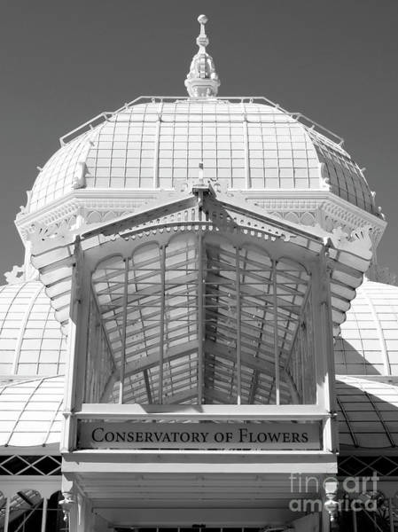 Wall Art - Photograph - Conservatory Entrance In Black And White by Carol Groenen