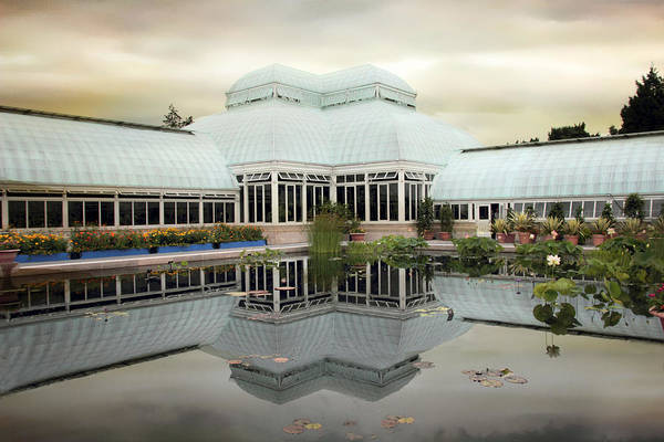 Conservatory Photograph - Conservatory Reflections by Jessica Jenney