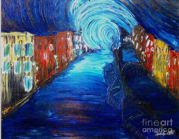 Digitalart Painting - Consider Your Dreams by Kim Peto