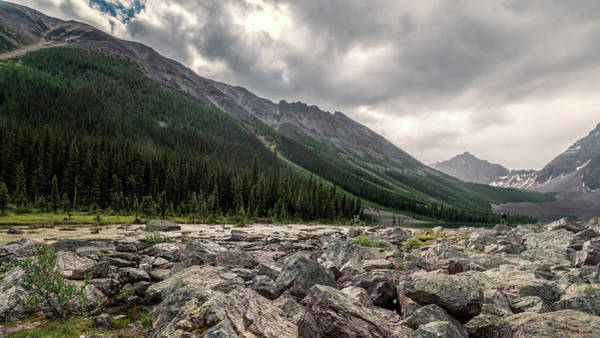 Photograph - Consolation Lakes And Boulders by Joan Carroll