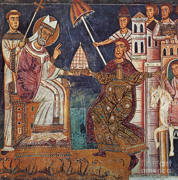 Painting - Constantine I (c280-337) by Granger