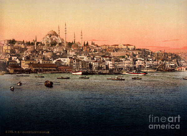 1896 Photograph - Constantinople by Celestial Images