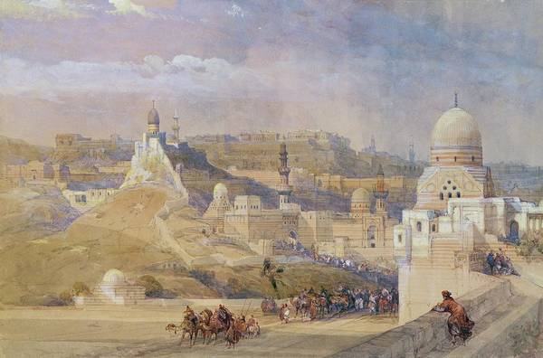 Dome Painting - Constantinople by David Roberts
