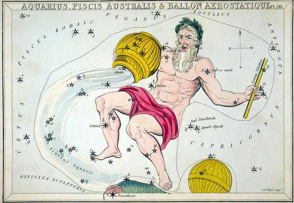 Photograph - Constellation: Aquarius by Granger