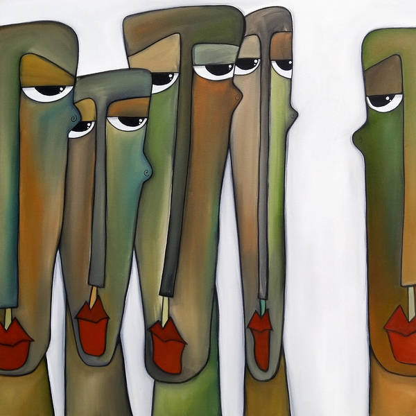Wall Art - Painting - Constituents by Tom Fedro - Fidostudio