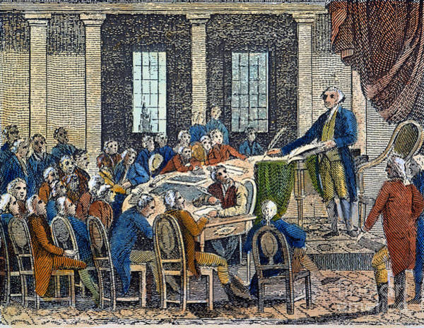 Photograph - Constitutional Convention by Granger
