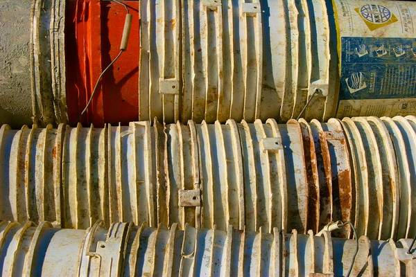 Photograph - Construction Buckets by Polly Castor
