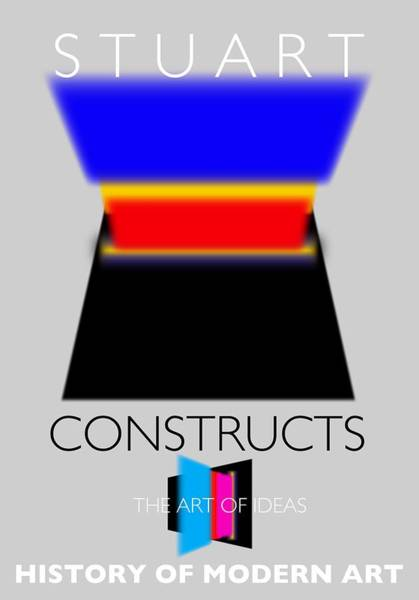Constructivism Painting - Constuctivist Poster by Charles Stuart