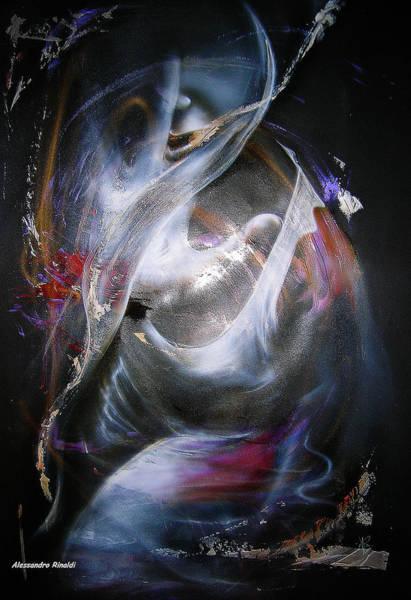 Acrilic Painting - Contact... by Alessandro Rinaldi