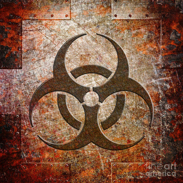 Digital Art - Contagion by Fred Ber