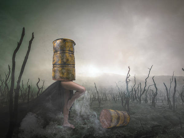 End Times Digital Art - Contained by Terry Fleckney