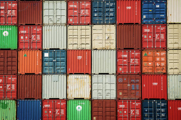 Photograph - Container Freight by Bud Simpson