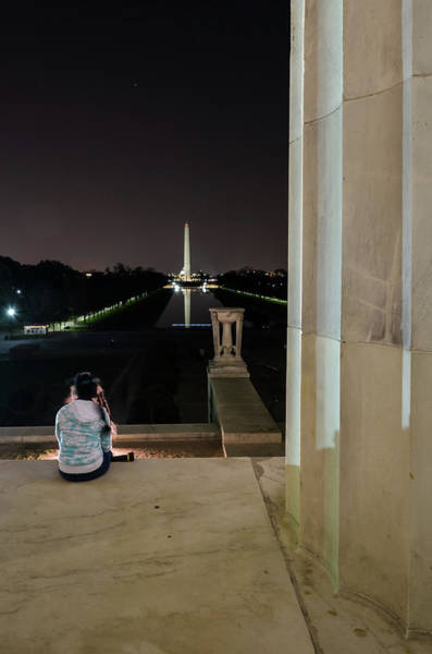 Photograph - Contemplating History by Stewart Helberg