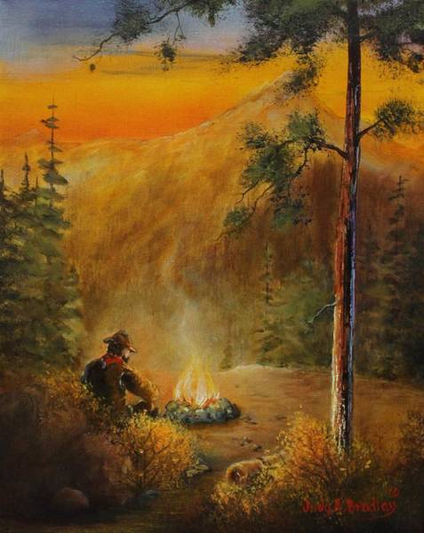 Painting - Contemplating The Journey by Judy Bradley